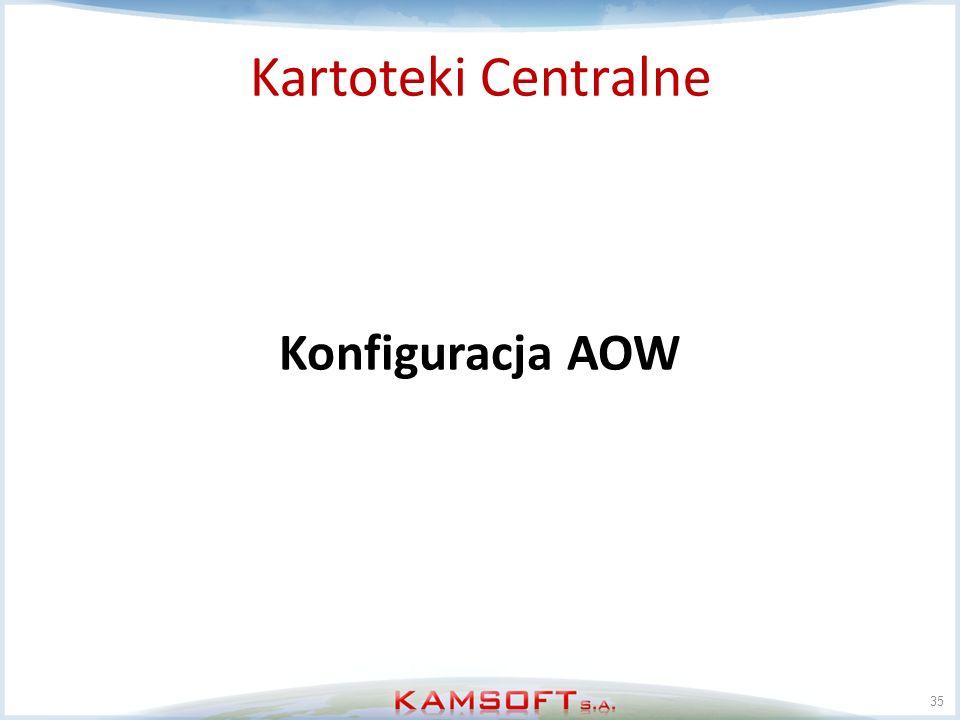 35 Konfiguracja AOW Kartoteki Centralne