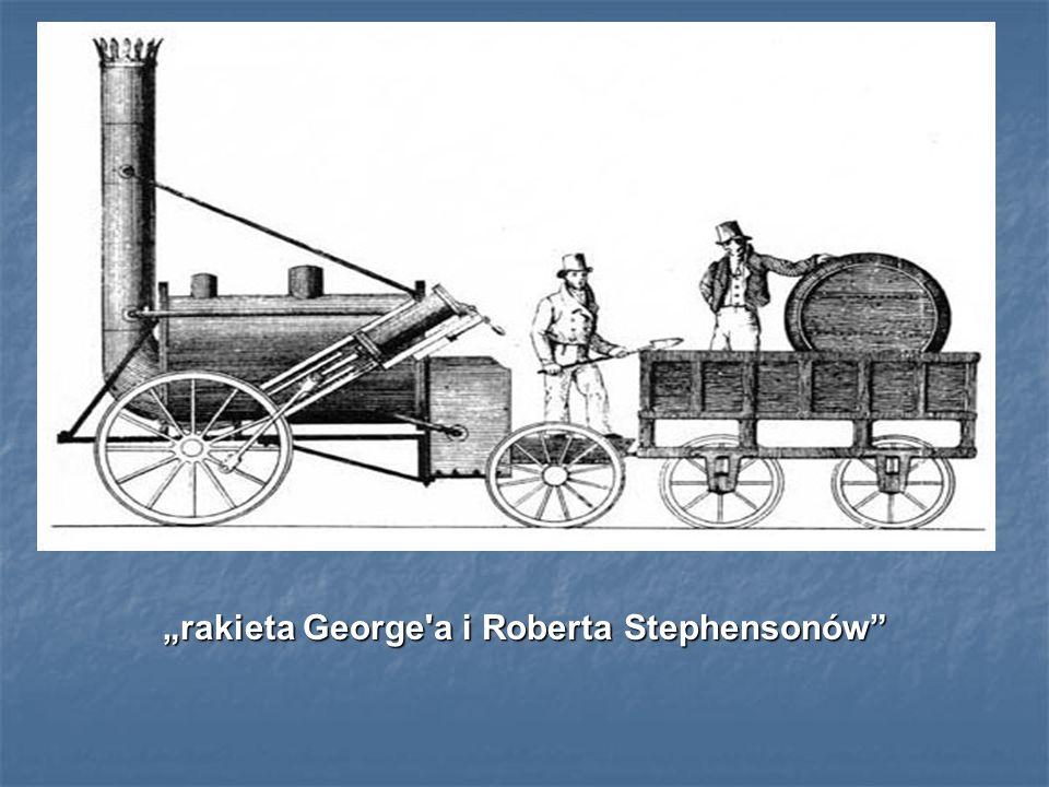 rakieta George'a i Roberta Stephensonów