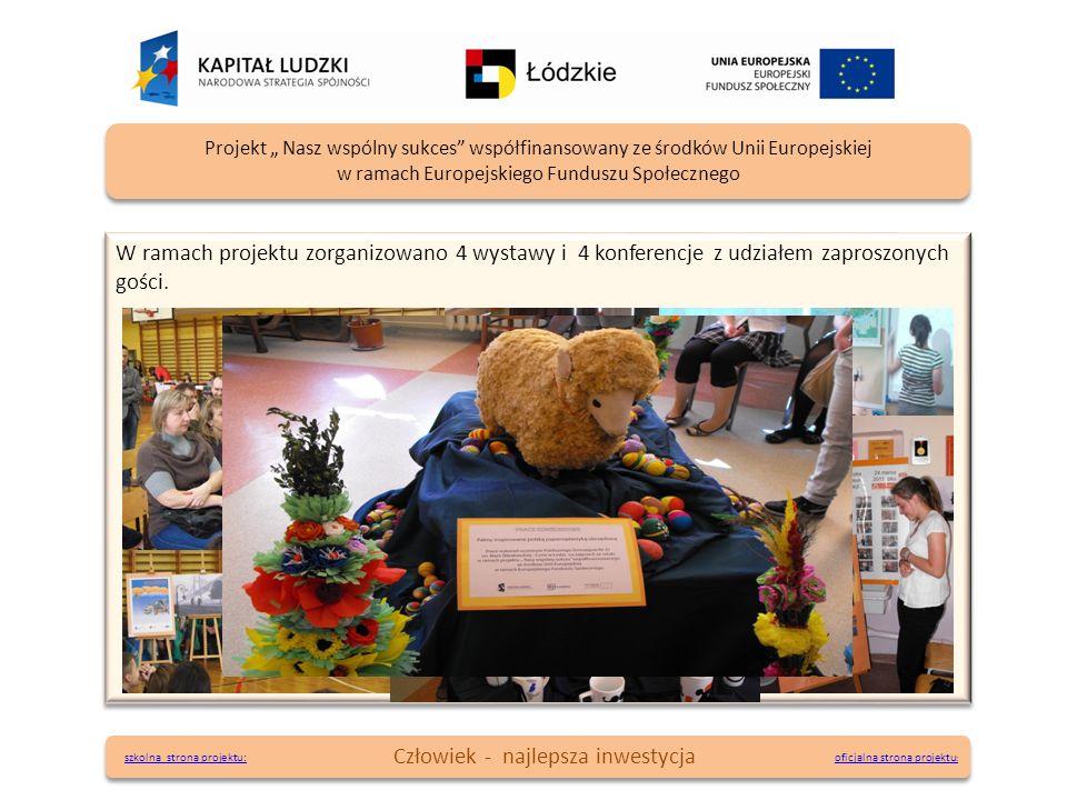 W ramach projektu zorganizowano 4 wystawy i 4 konferencje z udziałem zaproszonych gości. oficjalna strona projektu : oficjalna strona projektu : Proje