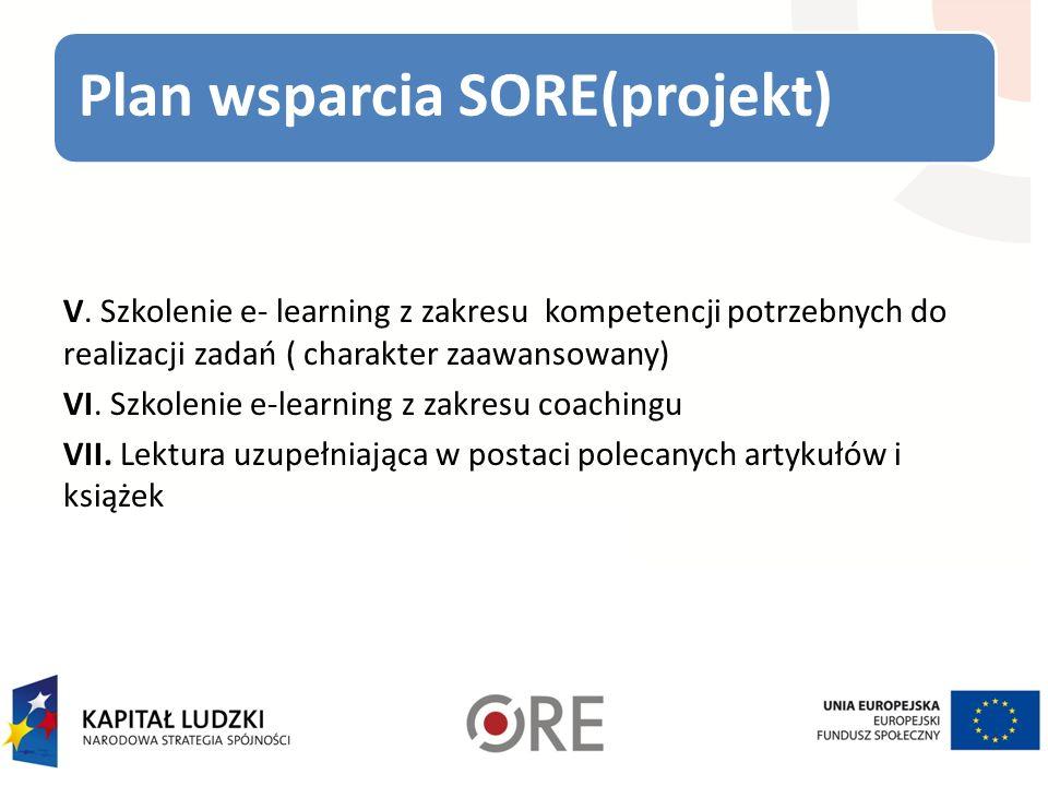 Plan wsparcia SORE(projekt) V.