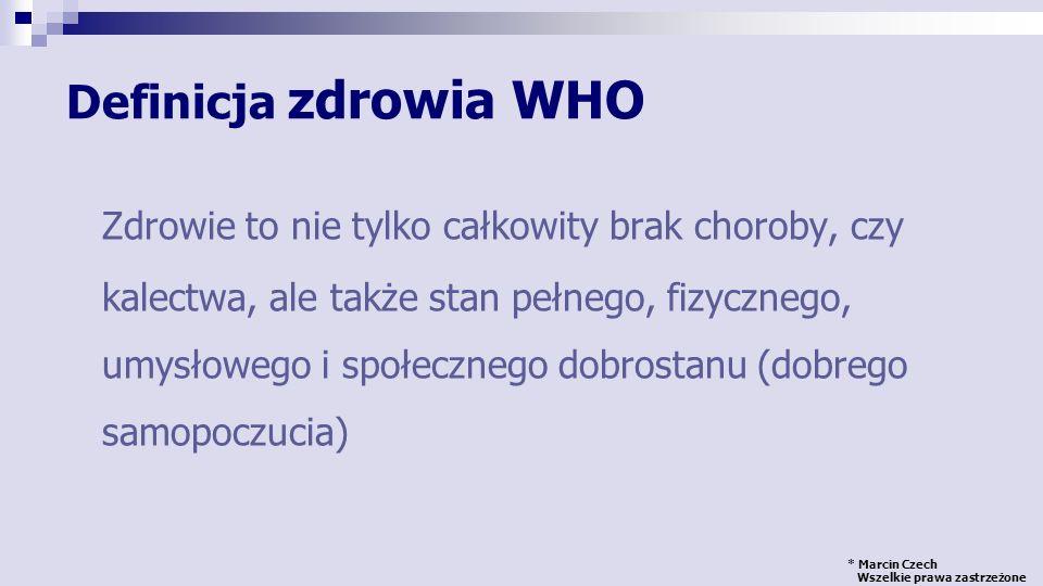 * Marcin Czech Wszelkie prawa zastrzeżone Kontakt: Marcin Czech marcin.czech@wum.edu.pl Dziękuję za uwagę