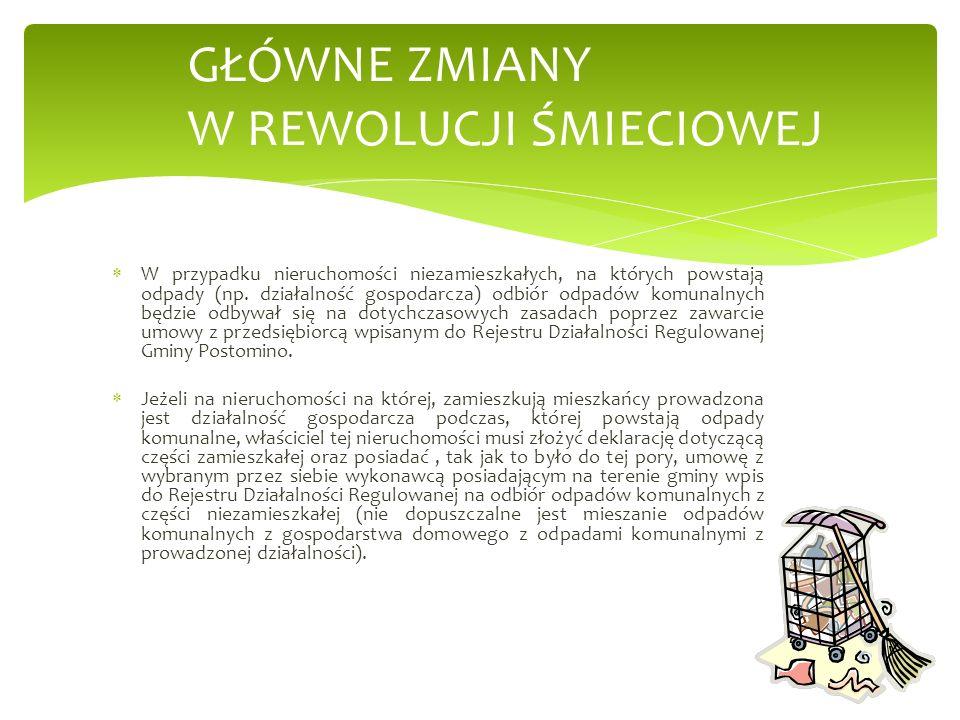 W związku z wejściem w życie nowego systemu należy wypowiedzieć aktualnie posiadaną umowę na wywóz odpadów w taki sposób, aby przestała obowiązywać z dniem 30 czerwca 2013 r.