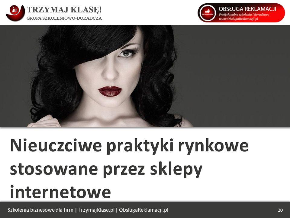 Szkolenia biznesowe dla firm   TrzymajKlase.pl   ObslugaReklamacji.pl 20