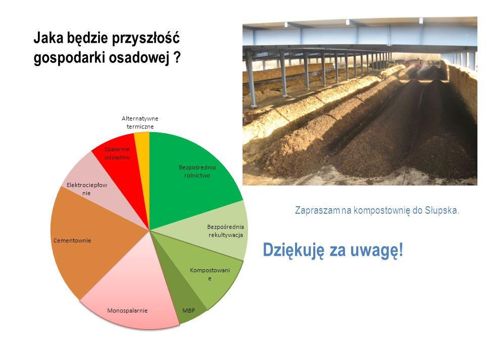 Jaka będzie przyszłość gospodarki osadowej ? Zapraszam na kompostownię do Słupska.