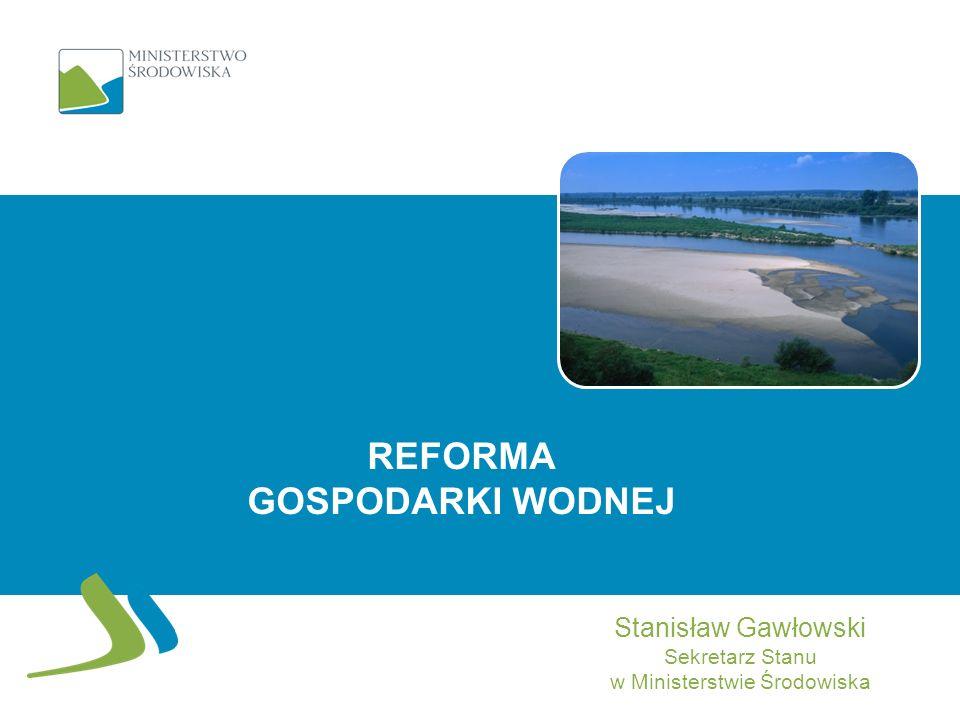 II - FINANSOWANIE 12 finansowanie gospodarki wodnej ze środków publicznych oraz: utworzenie dwóch nowych państwowych osób prawnych pozyskiwanie i gromadzenie wpływów generowanych przez gospodarkę wodną (generowanie przychodów) wydatkowanie środków na inwestycje w gospodarce wodnej utrzymanie wód i pozostałego mienia Skarbu Państwa związanego z gospodarką wodną Zarząd Dorzecza Wisły Zarząd Dorzecza Odry