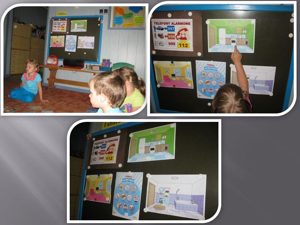 Dzieci wiedzą jakie służby należy wezwać w zależności od zaistniałej sytuacji.