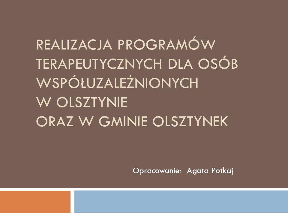 Punkt Konsultacyjny dla Osób Współuzależnionych działający przy MOPS – KIS w Olsztynku powołano 1 czerwca 2011r.