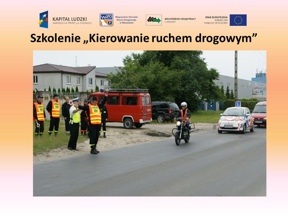 Szkolenie Kierowanie ruchem drogowym