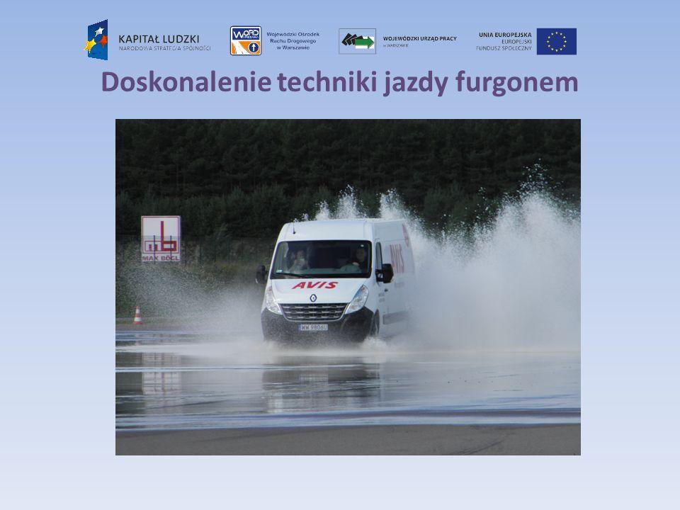 Doskonalenie techniki jazdy furgonem