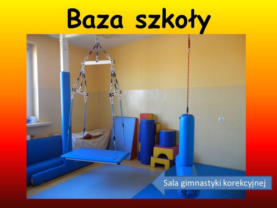 Baza szkoły Sala gimnastyki korekcyjnej