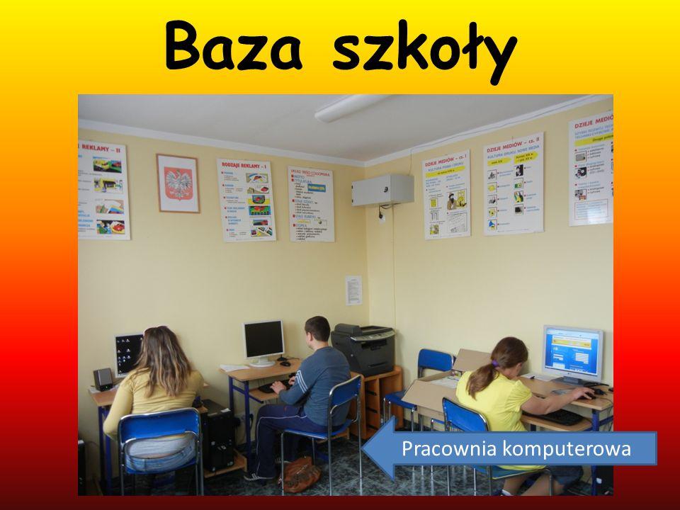 Baza szkoły Pracownia komputerowa