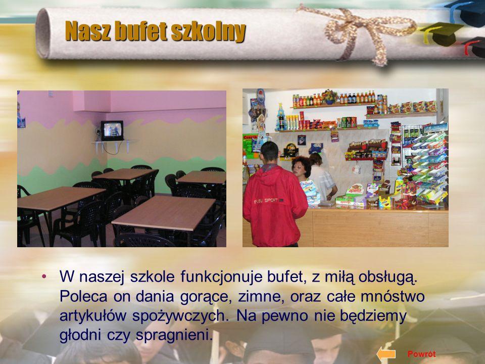 Nasza szkoła wydaje miesięcznik pt. Słówko. Znajduje się w nim wiele cennych informacji z życia szkoły, polityki, nauki. Gazetka szkolna Powrót
