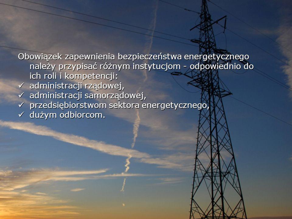 Do zadań Ministra Gospodarki w zakresie polityki energetycznej należą m.