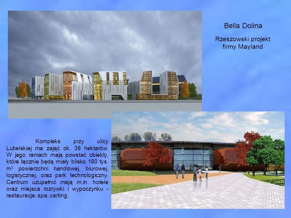 Kompleks przy ulicy Lubelskiej ma zająć ok. 38 hektarów. W jego ramach mają powstać obiekty, które łącznie będą miały blisko 190 tys. m 2 powierzchni