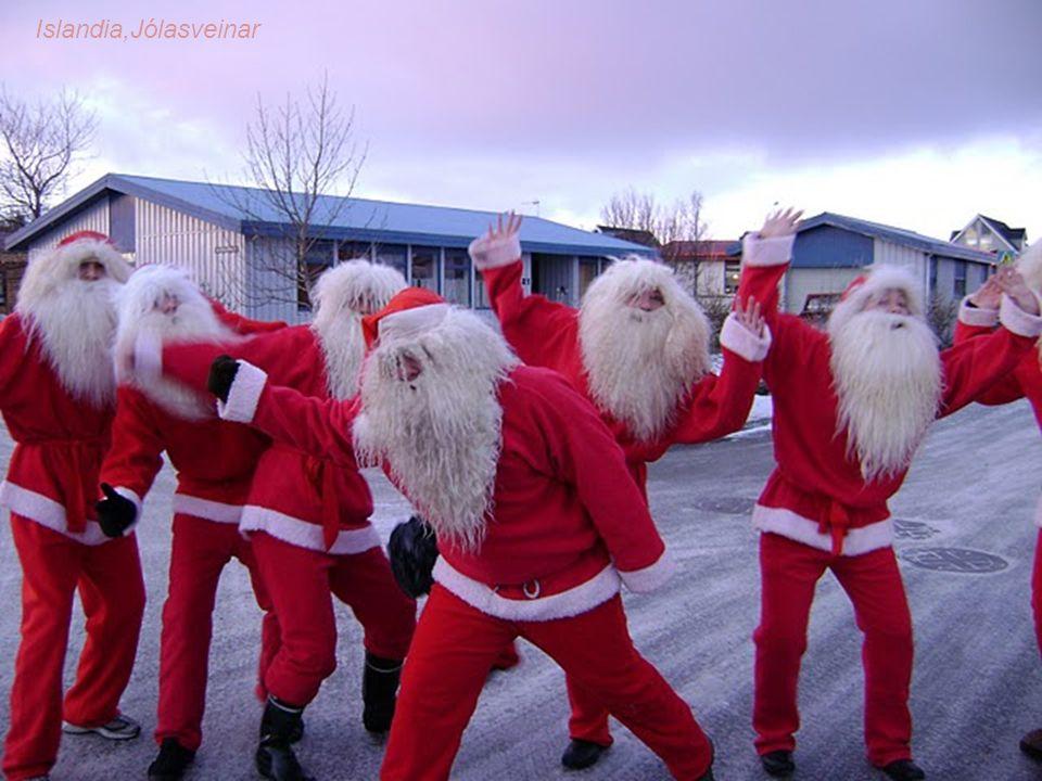 Do najciekawszych tradycji w Islandii należy oczekiwanie przez dzieci na prezenty przynoszone przez jólasveinar. Wywodzi się ona ze starych, sięgający