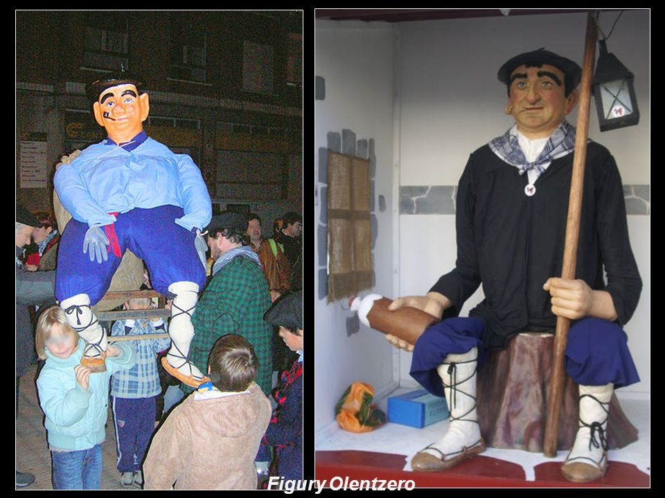 U Basków prezenty świąteczne przynosi dzieciom Olentzero.