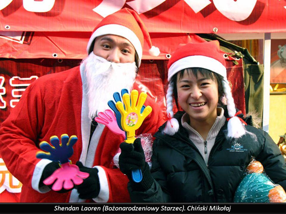 Chiny, dekoracje świąteczne