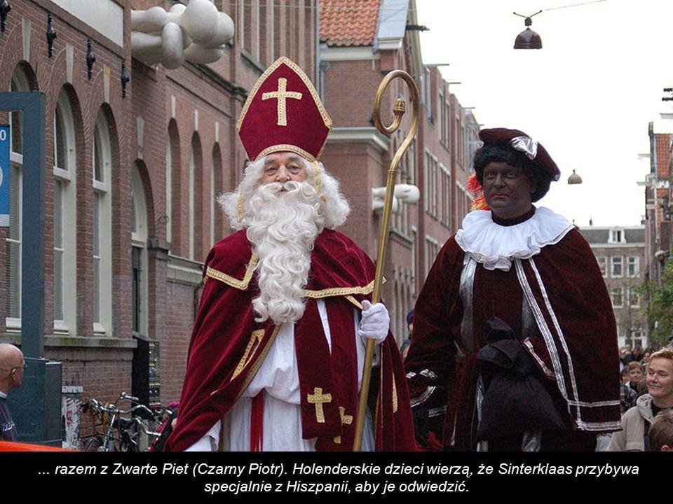 ...razem z Zwarte Piet (Czarny Piotr).
