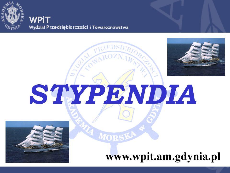 STYPENDIA www.wpit.am.gdynia.pl