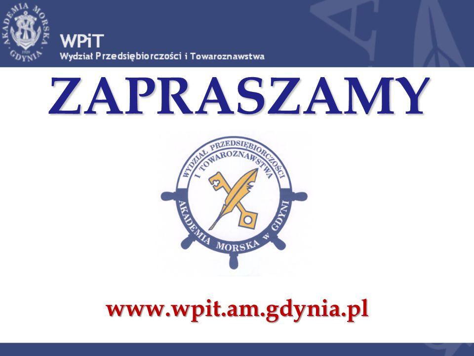 ZAPRASZAMY www.wpit.am.gdynia.pl