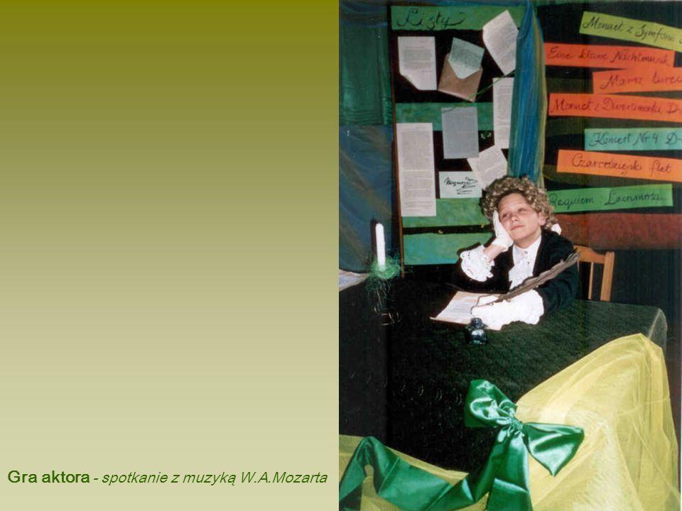 28 Gra aktora - spotkanie z muzyką W.A.Mozarta