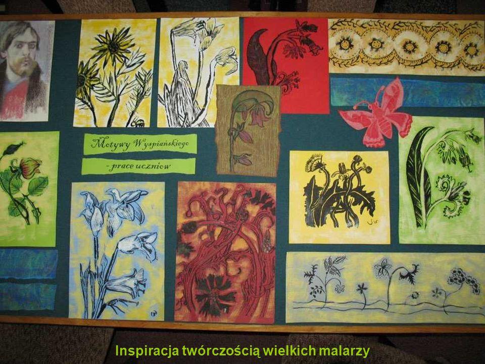 7 Inspiracja twórczością wielkich malarzy
