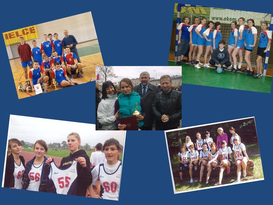 Turnieje międzyszkolne II Miejsce Chłopców w Jesiennym Turnieju Piłki Siatkowej III Miejsce Dziewcząt w I Mikołajkowym Turnieju Piłki Nożnej III Miejsce Chłopców w Mistrzostwach Kielc Klas Pierwszych w Koszykówce IV Miejsce Chłopców w Wiosennym Turnieju Koszykówki ( MOSiR) IV Miejsce Dziewcząt w Halowym Turnieju Piłki Nożnej