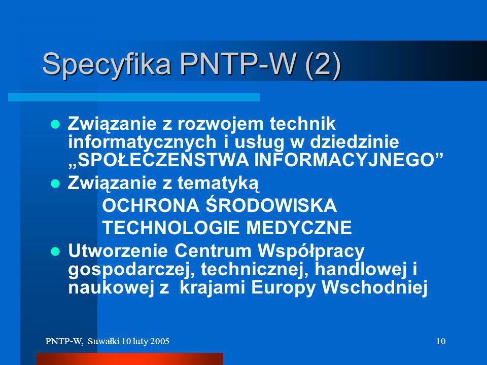 PNTP-W, Suwałki 10 luty 20059 Lokalizacja Parku