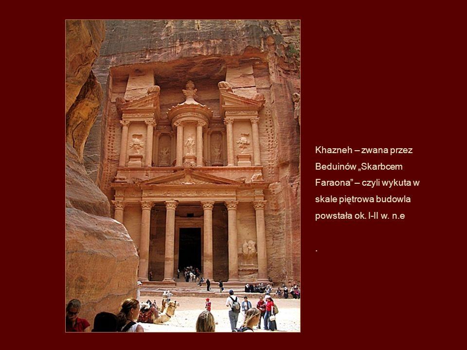 Petra leżała na skrzyżowaniu ważnych szlaków handlowych – z Indii do Egiptu oraz z południowej Arabii do Syrii.