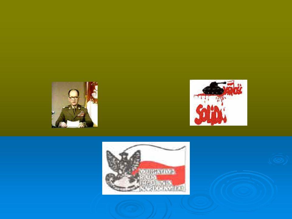 Stan wojenny Stan wojenny został wprowadzony w nocy z 12 na 13 grudnia 1981 r.