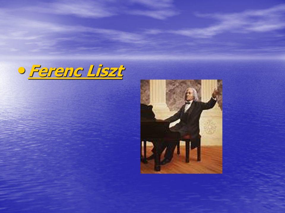 Ferenc Liszt Ferenc Liszt Ferenc Liszt Ferenc Liszt
