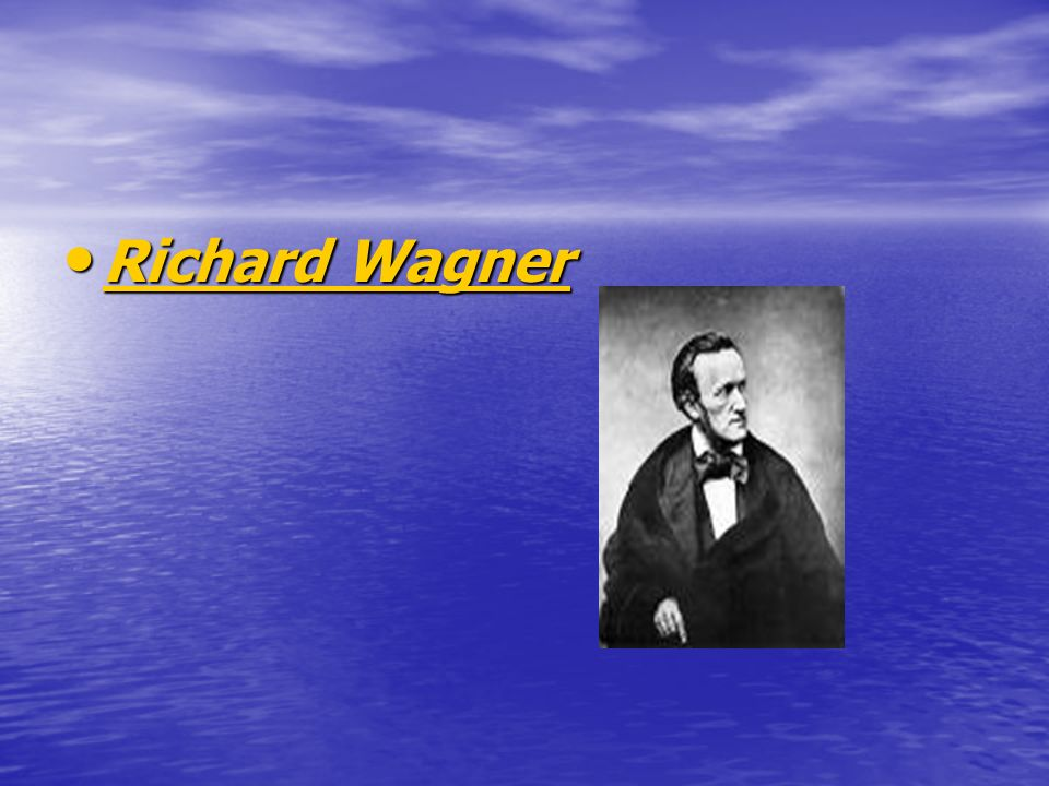 Richard Wagner Richard Wagner Richard Wagner Richard Wagner