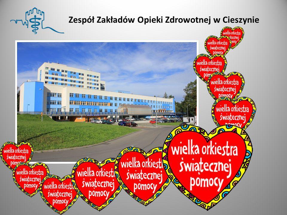 Od ponad 18 lat Zespół Zakładów Opieki Zdrowotnej w Cieszynie otrzymuje od Fundacji Wielkiej Orkiestry Świątecznej Pomocy sprzęt medyczny.