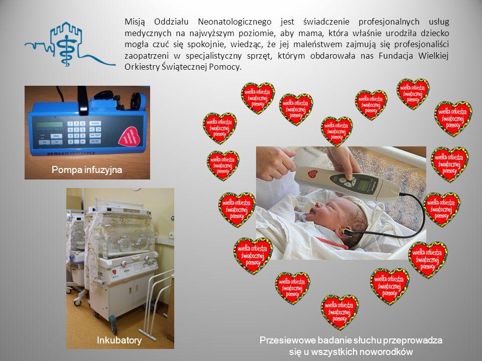 Misją Oddziału Neonatologicznego jest świadczenie profesjonalnych usług medycznych na najwyższym poziomie, aby mama, która właśnie urodziła dziecko mo