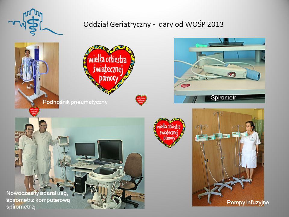 8 listopada 2013 roku, Szpital Śląski w Cieszynie odwiedzili przedstawiciele WOŚP.