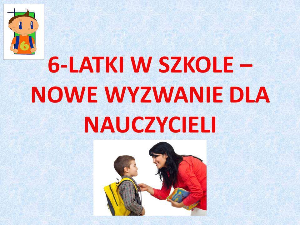 Obowiązek szkolny Obowiązek szkolny dla dzieci sześcioletnich został wprowadzony do polskiego systemu edukacji ustawą w 2009 r.