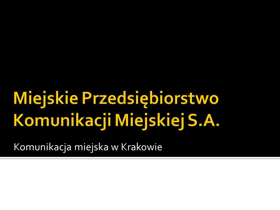 Komunikacja miejska w Krakowie