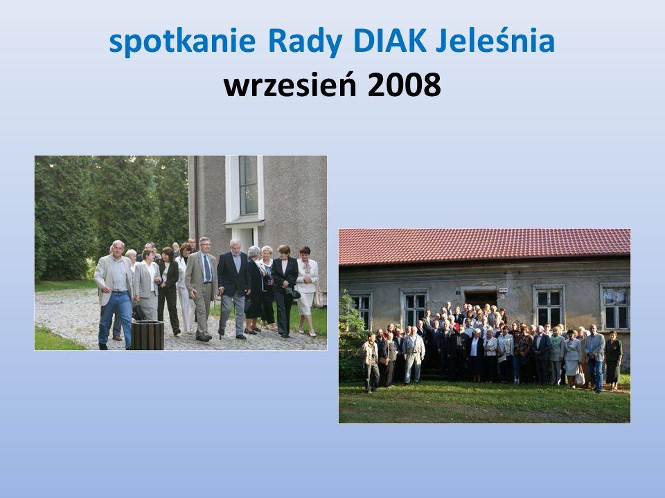 spotkanie Rady DIAK Jeleśnia wrzesień 2008