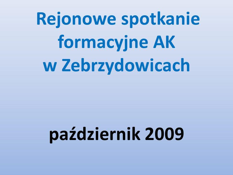 Rejonowe spotkanie formacyjne AK w Zebrzydowicach październik 2009