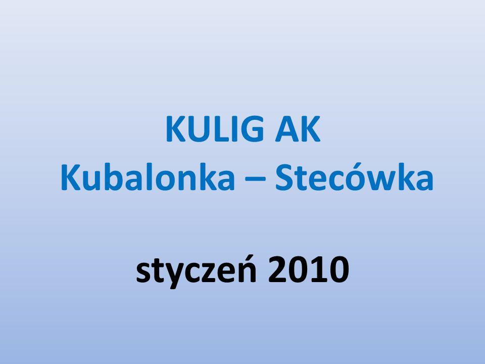 KULIG AK Kubalonka – Stecówka styczeń 2010