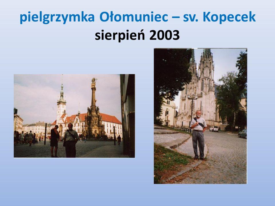 pielgrzymka Ołomuniec – sv. Kopecek sierpień 2003