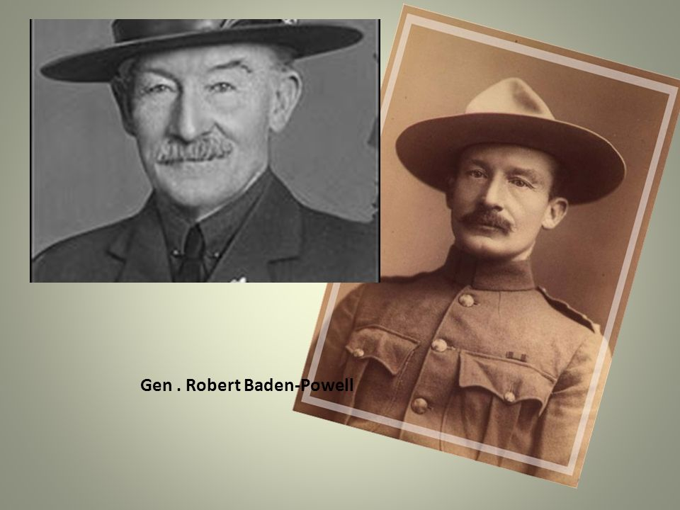 Gen. Robert Baden-Powell
