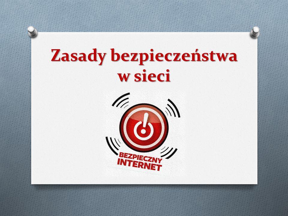 Zasady bezpieczeństwa w sieci