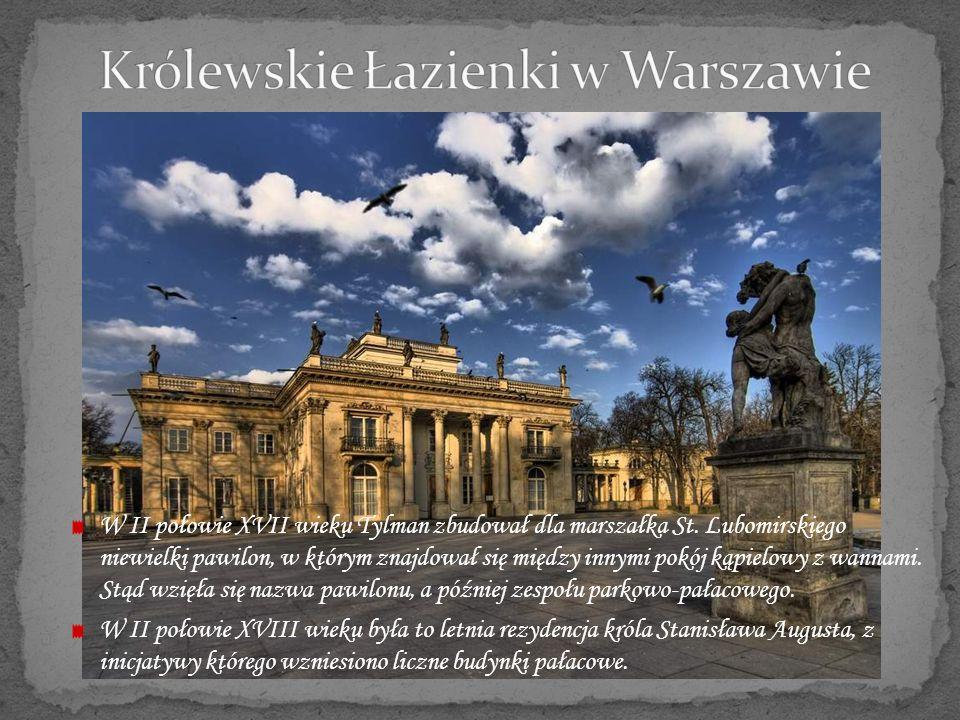 Podmiejska rezydencja króla Jana III Sobieskiego.Cenny barokowy zespół parkowo-pałacowy.