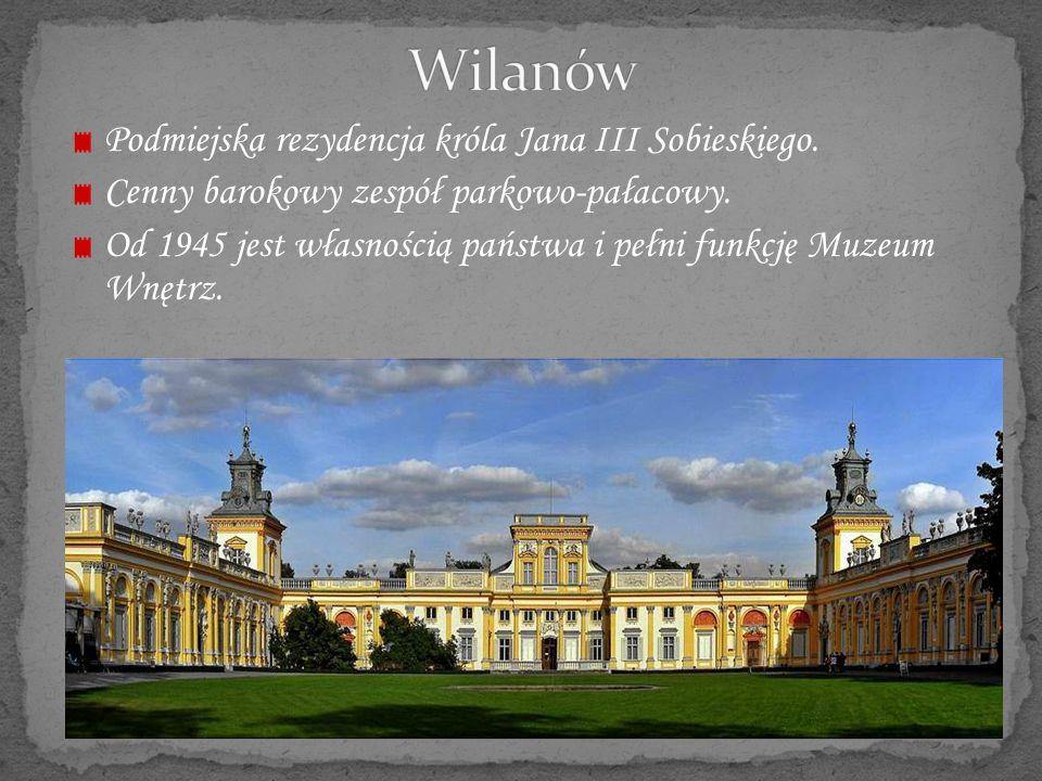 Pałac w obecnym stanie powstał w latach 1870-74, w wyniku przebudowy zamku z I poł.