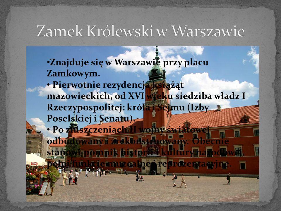 Potężny ceglany zamek złożony z Zamku Wysokiego, zamku Średniego i Zamku Niskiego.