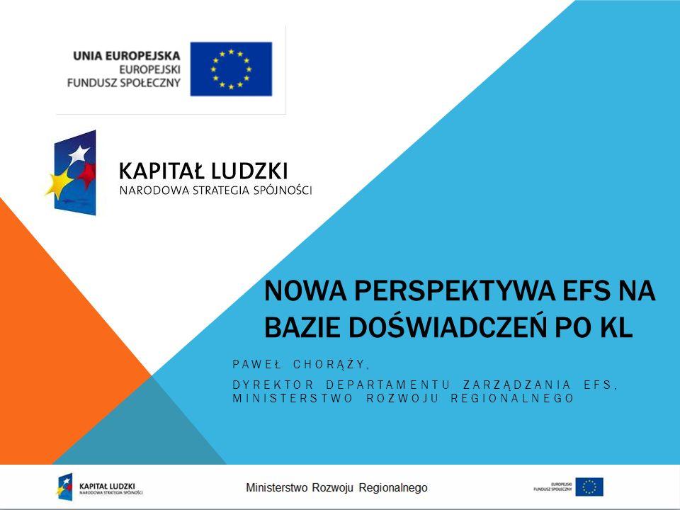 INNOWACJE SPOŁECZNE horyzontalne podejście do wdrażania innowacji społecznych i projektów realizowanych we współpracy z partnerami zagranicznymi EFS 2007-2013 EFS 2014-2020 EFS 2007-2013 EFS 2014-2020 wdrażanie działań ponadnarodowych i innowacyjnych w jednej wydzielonej osi priorytetowej krajowego programu operacyjnego PO WER