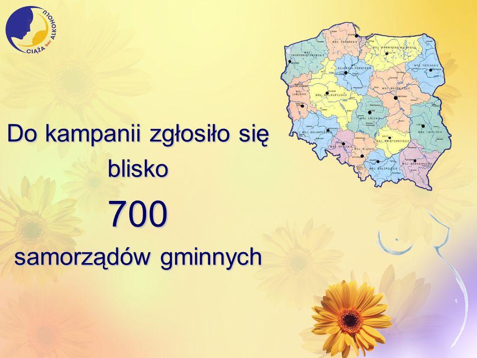 Do kampanii zgłosiło się blisko700 samorządów gminnych