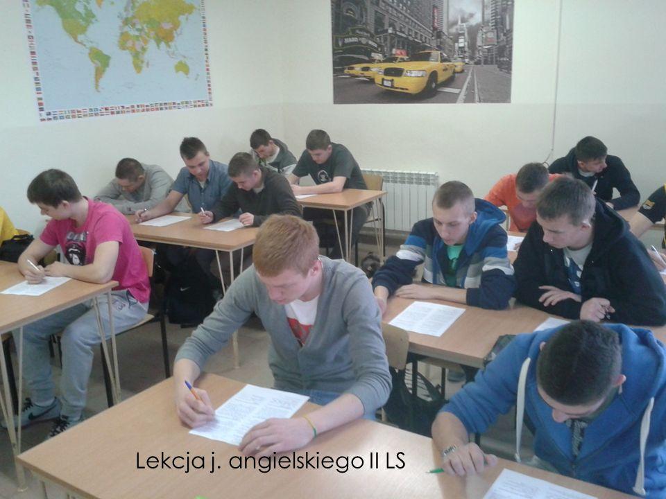 Lekcja j. angielskiego II LS