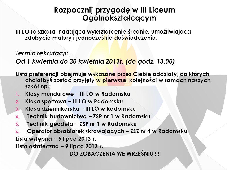 Uczestniczymy w: Treningach Zawodach Turniejach Lidze wojewódzkiej juniorów Obozach treningowych